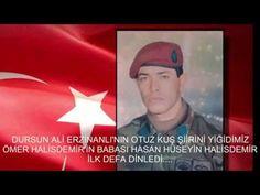 18 Ağustos 2016 Ömer Halisdemir'in babası ilk defa 30 kuş şiirini dinledi - YouTube