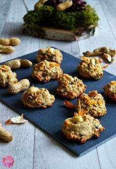 Erdnuss-Bananen-Müsli-Cookies | SchokoladenFee
