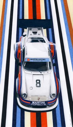 Martini racing Porsche GT3 in 2021 Martini racing