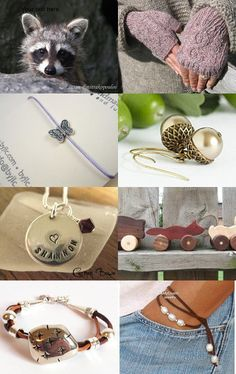 Etsy Ontario Team's Christmas Countdown: Day 1  by Karina Clark on Etsy #gifts #christmas #taupe #giftideas