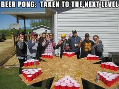 Ultimate beer pong