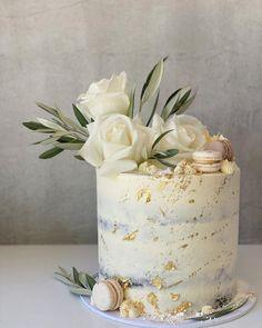 Special Birthday Cakes, Elegant Birthday Cakes, 4th Birthday Cakes, Birthday Cake With Flowers, Pretty Birthday Cakes, New Cake Design, Cake Designs For Girl, Wedding Cake Designs, Wedding Cake Stands