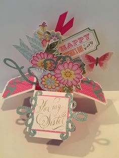 Anna Griffin Window Box Card Making Kit with Dies by Jane Makuch 2017