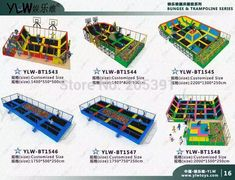 4 station bungee trampoline special park,motor operated trampoline for shopping mall,4 in 1 jumping trampoline 4 In 1, Shopping Mall, Nerf, Shopping Center