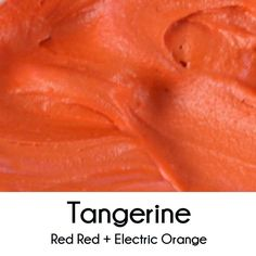 How to Make Tangerine Royal Icing (Mix Colors Icing) Frosting Colors, Icing Frosting, Frosting Tips, Icing Recipe, Frosting Recipes, Sugar Cookie Cakes, Cookie Icing, Royal Icing Cookies, Cupcake Cakes