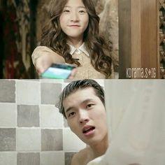 High School: Love On ~ Woo Hyun in the shower... hmmmmm ♡