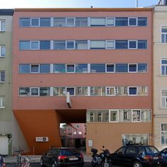 BKK-3   Cooperativa de viviendas Sargfabrik   Viena, Austria   1993-1996   Ideas Para, Austria, Multi Story Building, Coops, Vienna, Homes, House