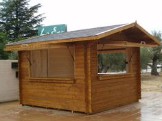 kiosco de madera oficina - Buscar con Google Mobile Kiosk, Bar Shed, Food Kiosk, Food Truck Design, Kiosk Design, Interior Design Resources, Pallet Patio, Food Stall, Food Court