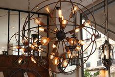 Lustre SPOUTNIK 24 Lampes