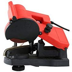 Pro-Series by Buffalo Tools Electric Chain Saw Tool Sharpener at Lowe's. Save time and money by sharpening your chainsaw chain yourself with this sharpener. It is easy to use when mounted to a bench, wall or vise, and it Best Electric Chainsaw, Electric Chainsaw Sharpener, Best Chainsaw, Chainsaw Chain Sharpener, Chainsaw Parts, Stihl Chainsaw, Chainsaw Sharpening Tools, Blade Sharpening, Saw Tool