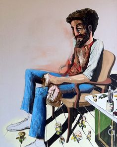 benny andrews paintings | Edge of Reality by Benny Andrews | Art