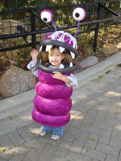 Boo from Monsters, Inc.--- awesome costume!