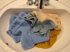 How to waterproof wool diaper covers, soakers, and Longies with lanolin.