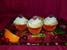Cranberry Compote Filling orange cream cheese frosting