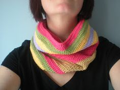 my world of wool: crochet scarf for beginners
