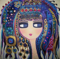 Contemporary Art For Kids Illustrations, Illustration Art, Iranian Art, Arabic Art, Turkish Art, Paintings I Love, Orient, Artist Trading Cards, Whimsical Art