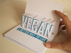 VEGAN IS THE NEW MEAT - Editorial/Print by Steffen Gorski, via Behance
