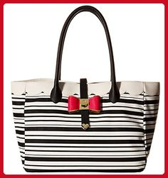 Betsey Johnson Women's Bag in Bag Stripe Handbag - Totes (*Amazon Partner-Link)