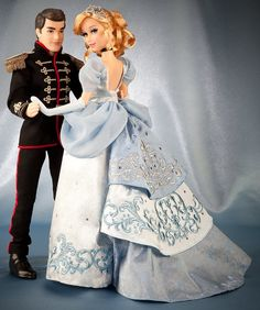 Cinderella and her Prince - Disney Fairytale Designer Collection <3