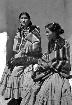 Navajo Girls ~Circa 1935