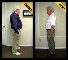 HCG Before and After Photos of Dennis: Down 53 lbs with the HCG Diet! www.poundsandinchesaway.com
