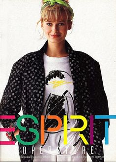 Esprit, so cool.