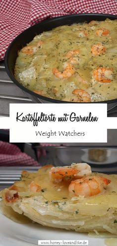 Weight Watchers Kartoffeltorte in der Pfanne gebacken  #WeightWatchers #Kartoffeltorte Easy Peasy, Good Food, Favorite Recipes, Recipes For Shrimp, Savory Foods, Finger Food, Pies, Recipes For Children, Yummy Food