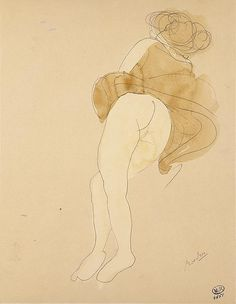 Por amor al arte: Rodin, dibujos y acuarelas