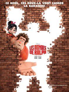 Disney's Wreck-It Ralph. Les Mondes De Ralph. International poster.