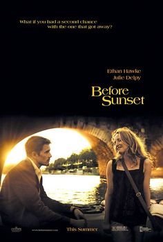 Before Sunset - It's nine years after Jesse and Celine first met; now, they encounter one another on the French leg of Jesse's book tour.