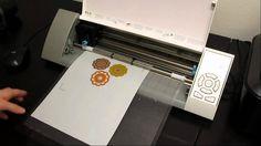 Imprimer et Découper avec la SIlhouette