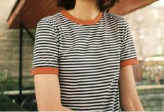 Stripes are a must at the moment and this super cute tee is both comfy and easy to wear!