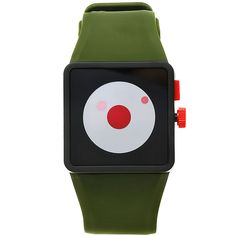 Newton Watch in green / by Nixon