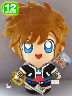 Anime Plushies | Sora Plushie I want to get this for my brother!