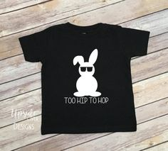 Hip Hop Easter Shirt Easter Shirts Boys by UpsideOverDesigns