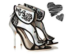 I Want! Sophia Webster Leoni Holographic Sandals from NetaPorter