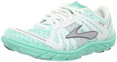Brooks Womens PureConnect Running Shoes Color: White/Cockatoo