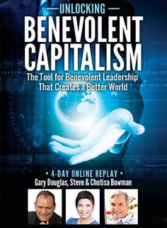 Do you want to look at a totally different way of looking at creating business? A new style of leadership that creates a greater difference and generates more possibilities in businesses of all sizes, in people's lives and on the planet? This is the promise that Benevolent Capitalism offers.