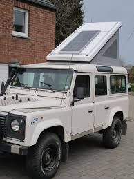 Image result for land rover with pop up roof Camper Van, Tents, Pop Up, Container, Vehicles, Car, Image, Teepees, Starcraft Campers