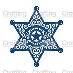 Detailed and delicate, Tattered Lace Dies are the most intricate dies available. Laser Paper, Sheriff Badge, Design Maker, All Craft, Paper Cutting, Cricut Design, Paper Art, Coloring Pages, Sheriff Department