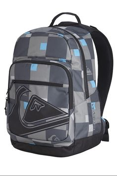 24bffd30f0ab Quiksilver Schoolie Backpack - Gunsmoke FREE Delivery and 10% OFF your  first order at schoolbagstation.com