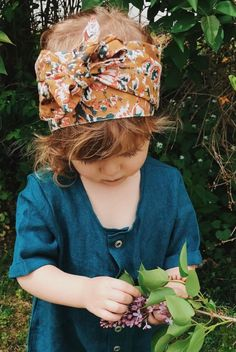 Handmade Boho Headwrap | Littlemoonclothing on Etsy