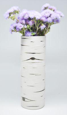 Aspen Bark Vase