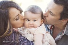 Sweet #Family Of Three Photo Session By Lauren Ristow Photography/Fawn Over #Baby | Look around!