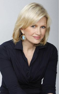 veteran broadcast journalist Diane Sawyer.
