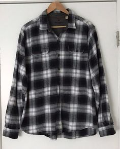 Clothing, Shoes & Accessories Fast Deliver Pendleton Mens Pure Wool Flannel Shirt Sz L Check Plaid Green Lumber Jack Button Profit Small