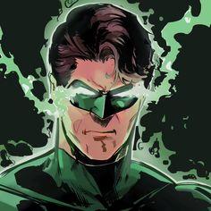 Green Lantern Hal Jordan, Green Lantern Corps, Comic Art, Comic Books, Twitter Icon, Berserk, Detective Comics, Venom, Dc Universe