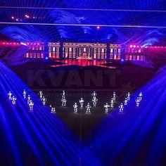 Kvant laser show production