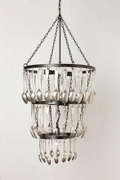 ridiculously overpriced anthropologie kitchen/dining room chandelier. jasen can make this for cheap!