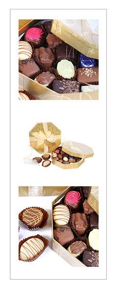 Luxury Belgian Chocolates 300g, #chocolate #belgian #truffles